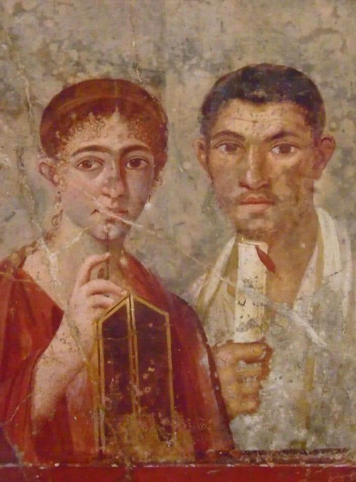 Brwi w Starożytnym Rzymie.